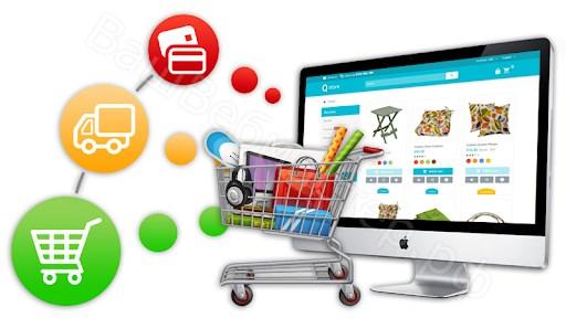 цели создания сайта - интернет магазин